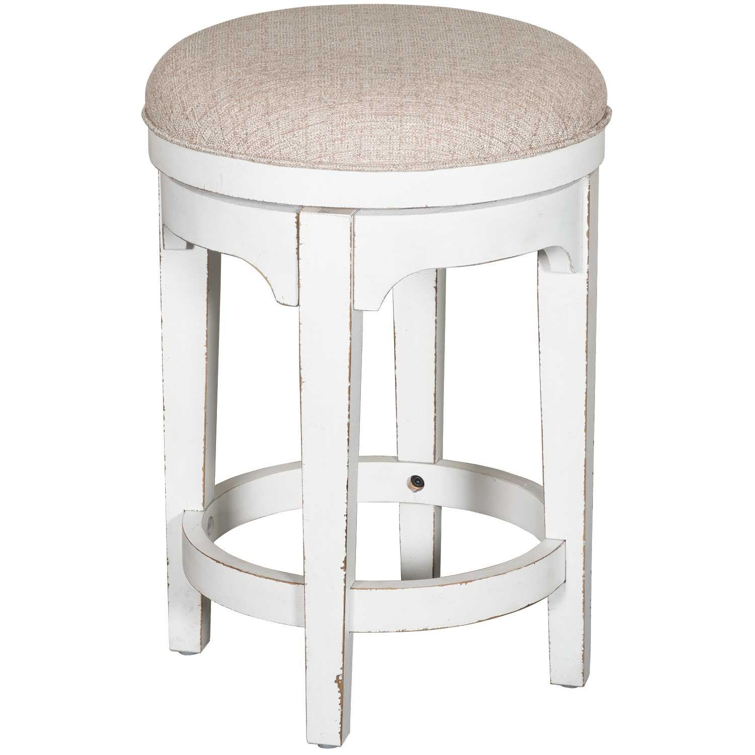 Magnolia Manor Console Swivel Barstool | 244 Ot9003 | Liberty With Manor Grey Swivel Chairs (Image 13 of 25)