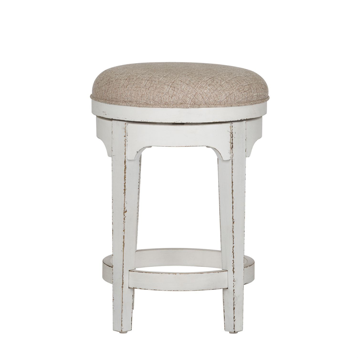 Magnolia Manor Swivel Backless Stool – Woodstock Furniture Regarding Manor Grey Swivel Chairs (Image 14 of 25)
