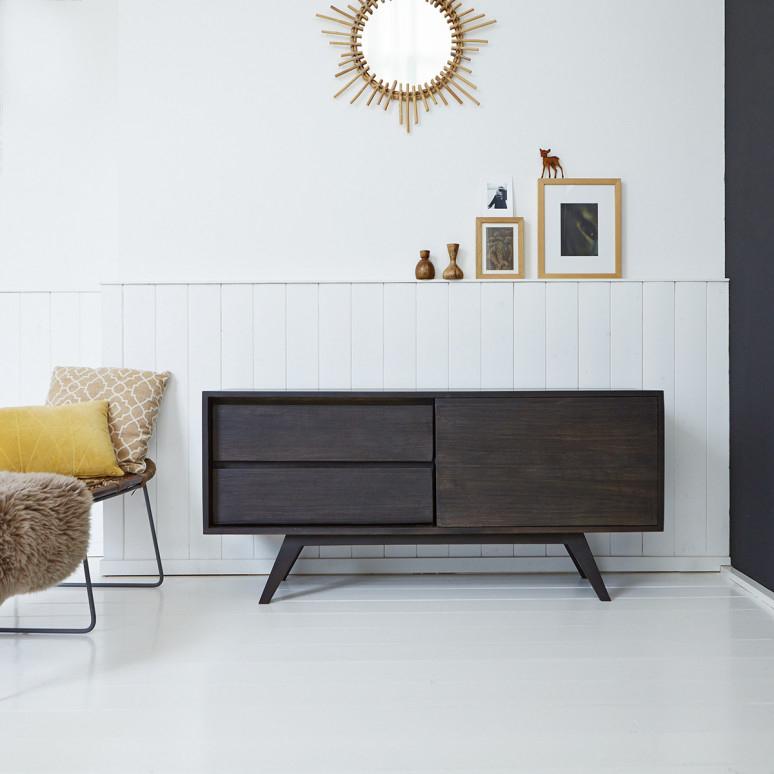 Mango Wood Sideboard – Moka Sideboard Sale At Tikamoon In Most Popular Sideboard Tv Stands (Image 15 of 25)