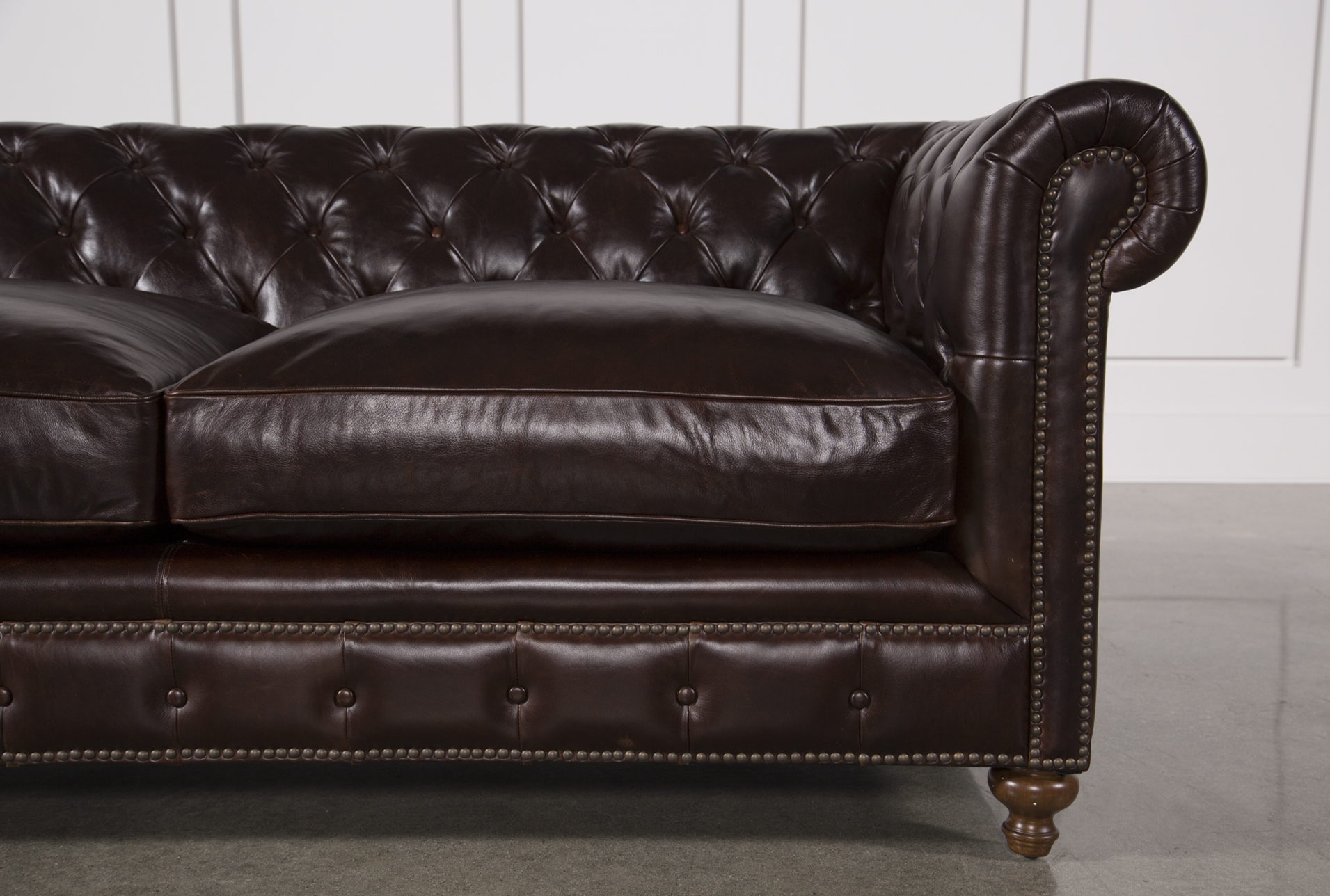 Mansfield 86 Inch Cocoa Leather Sofa In 2018 | Products | Pinterest Pertaining To Mansfield Cocoa Leather Sofa Chairs (Image 12 of 25)