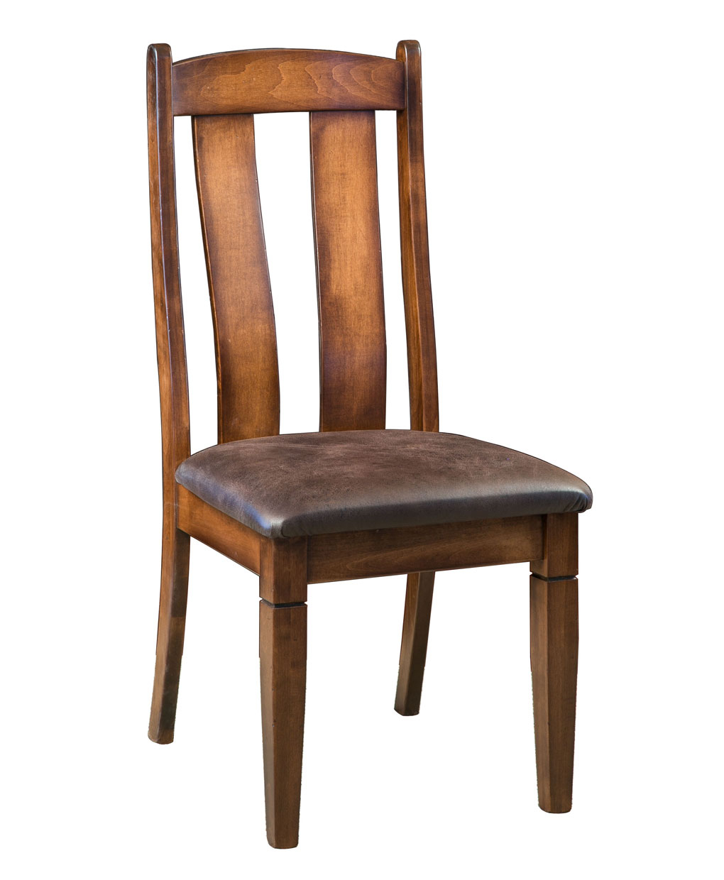 Mansfield Dining Chair – Amish Direct Furniture For Mansfield Cocoa Leather Sofa Chairs (Image 15 of 25)