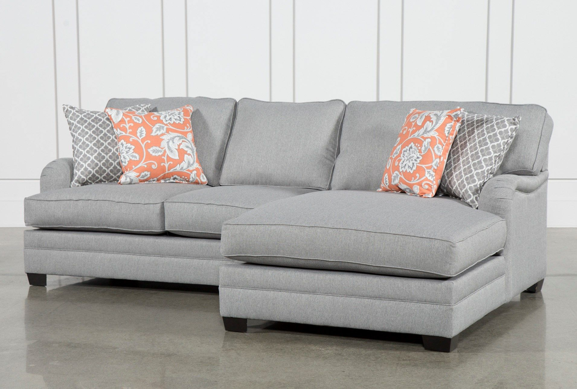 Marissa 2 Piece Sectional W/raf Chaise In 2018 | For The Home With Marissa Sofa Chairs (View 13 of 25)
