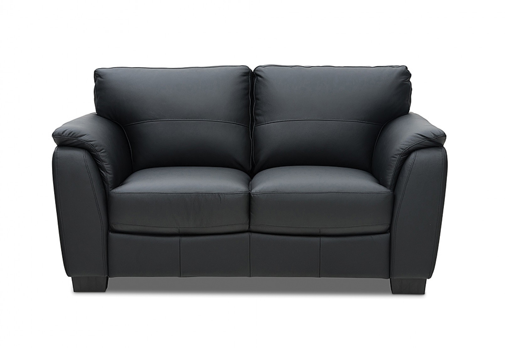 Marissa Leather 2 Seater Sofa | Amart Furniture Pertaining To Marissa Sofa Chairs (View 2 of 25)