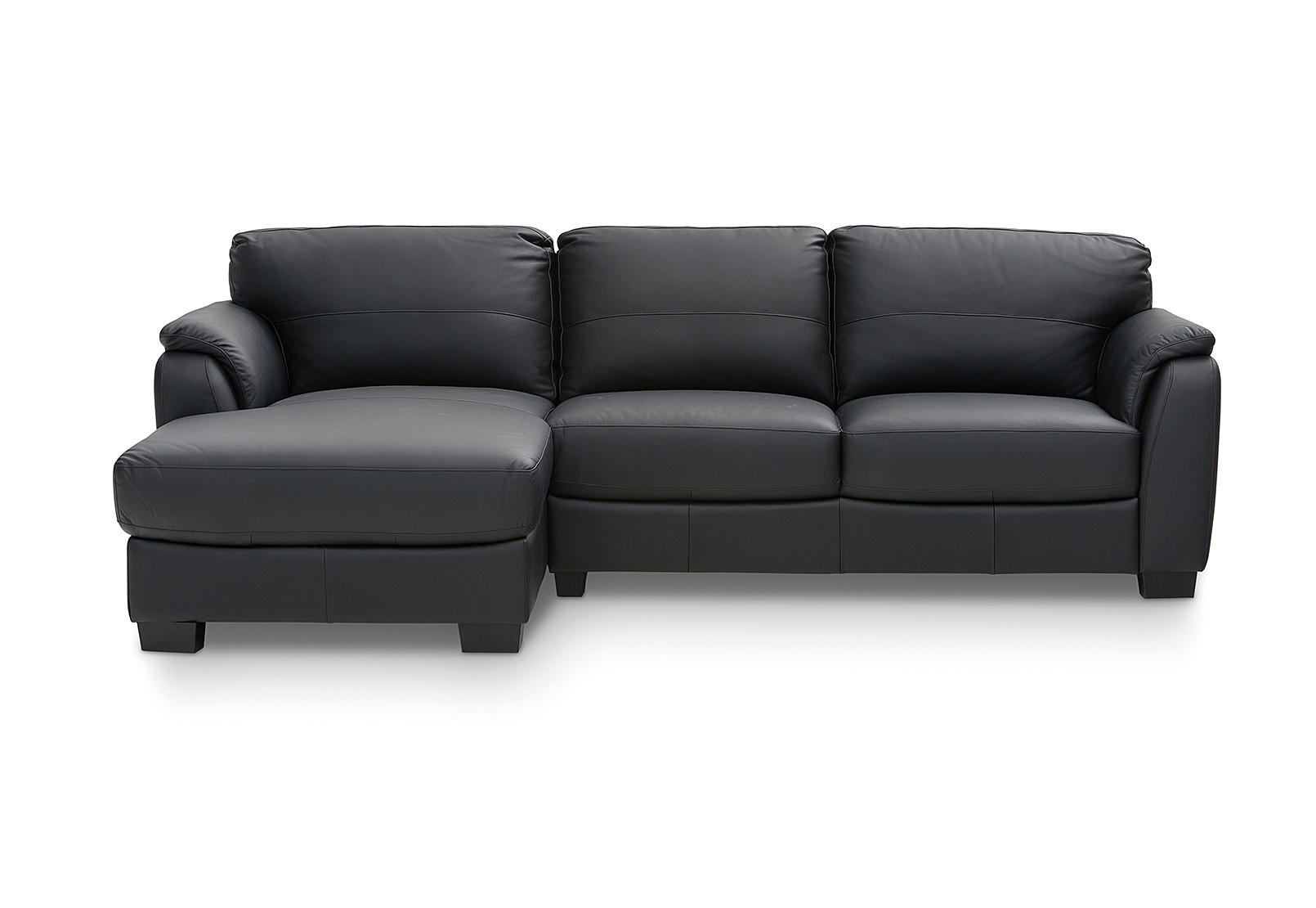 Marissa Leather 3 Seater Chaise | Amart Furniture Regarding Marissa Sofa Chairs (Image 12 of 25)