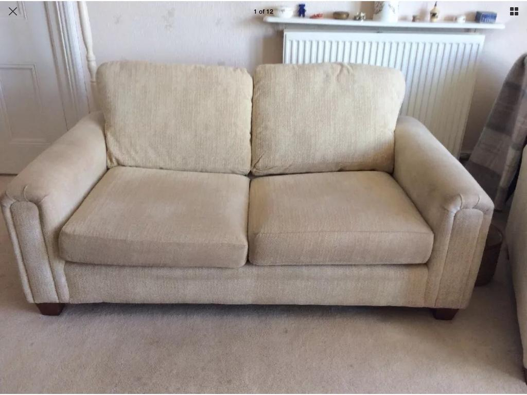 Marks And Spencer Bed Settee And Matching Arm Chair | In Dawlish With Regard To Devon Ii Arm Sofa Chairs (View 8 of 25)
