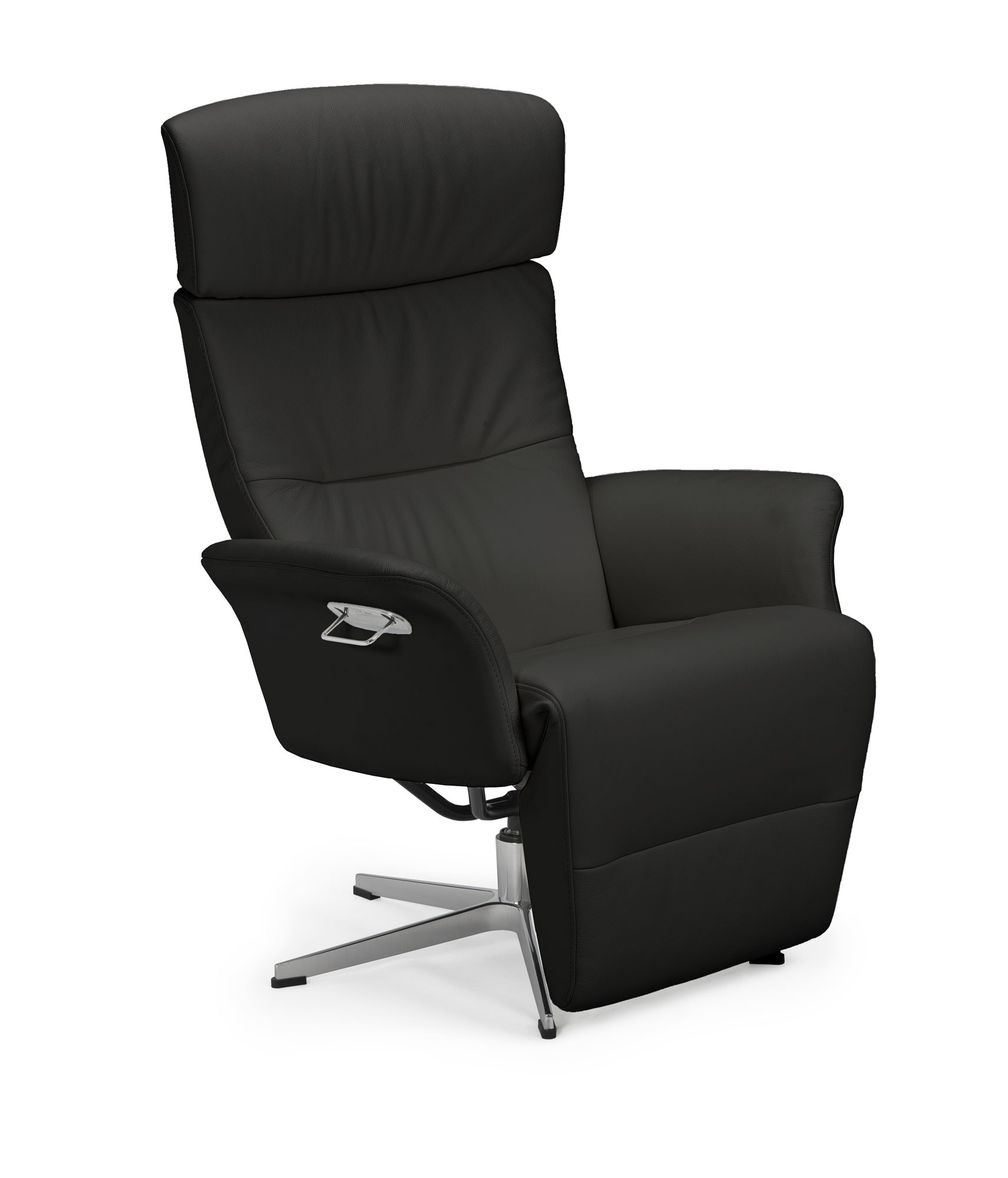 Master Crossfoot Swivel Chair | Tr Hayes – Furniture Store, Bath With Regard To Leather Black Swivel Chairs (View 6 of 25)