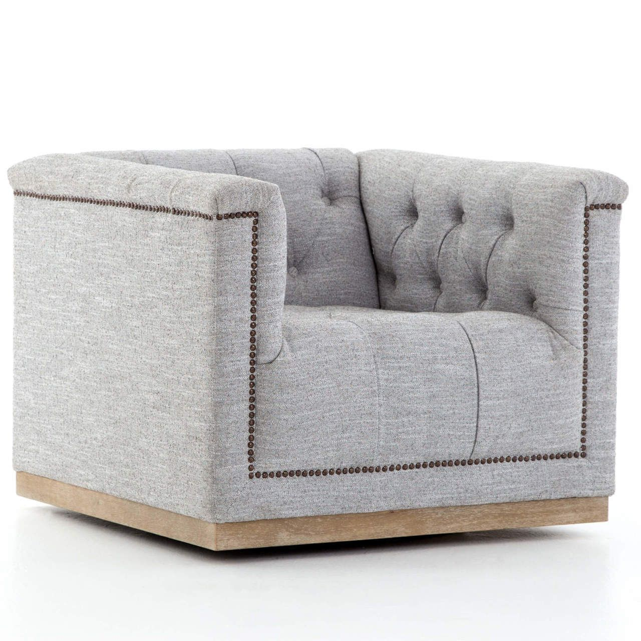 Featured Image of Manor Grey Swivel Chairs