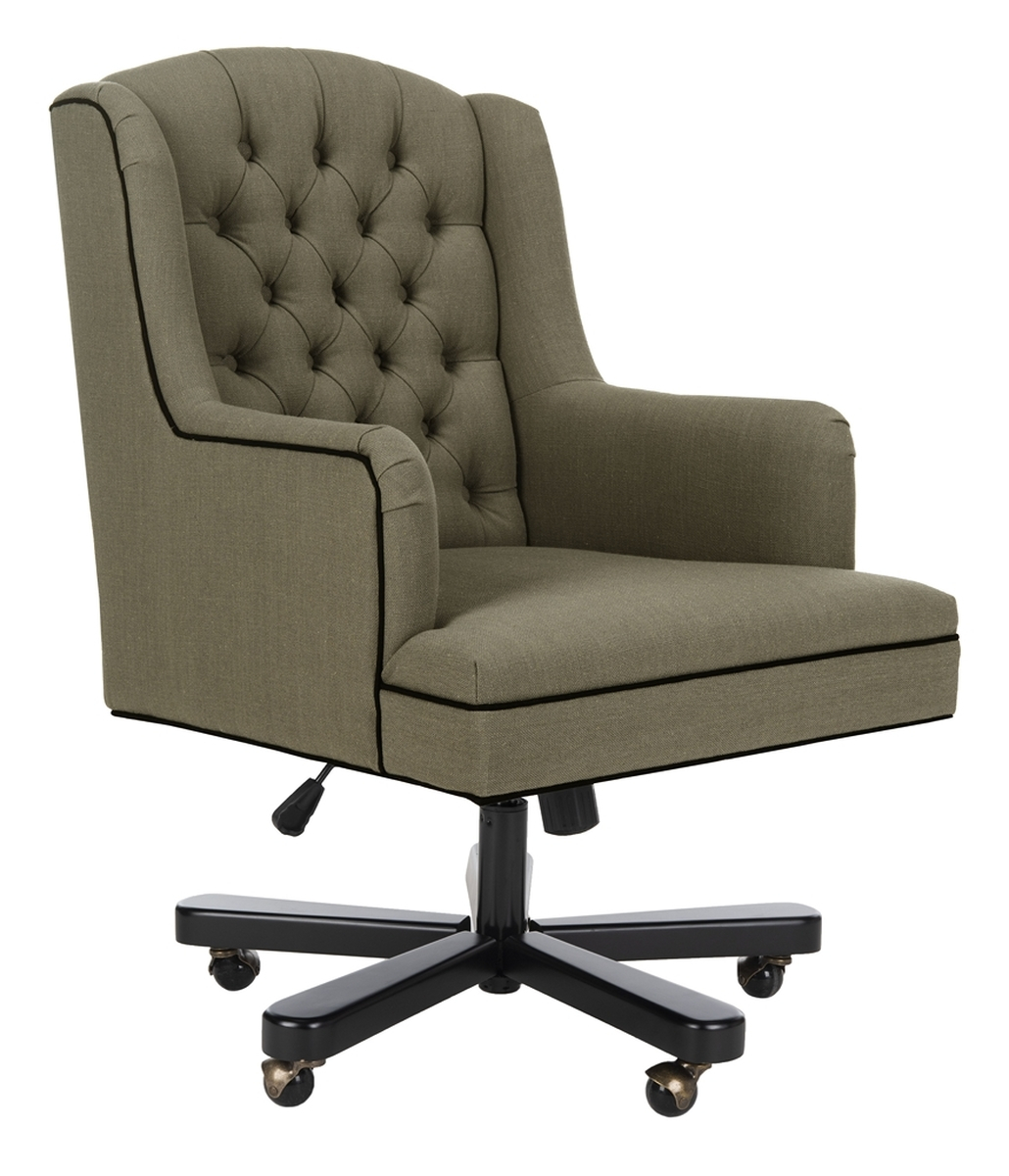 Mcr4211A Desk Chairs – Furnituresafavieh In Nichol Swivel Accent Chairs (Image 13 of 25)
