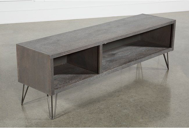 Featured Image of Melrose Titanium 65 Inch Lowboy Tv Stands