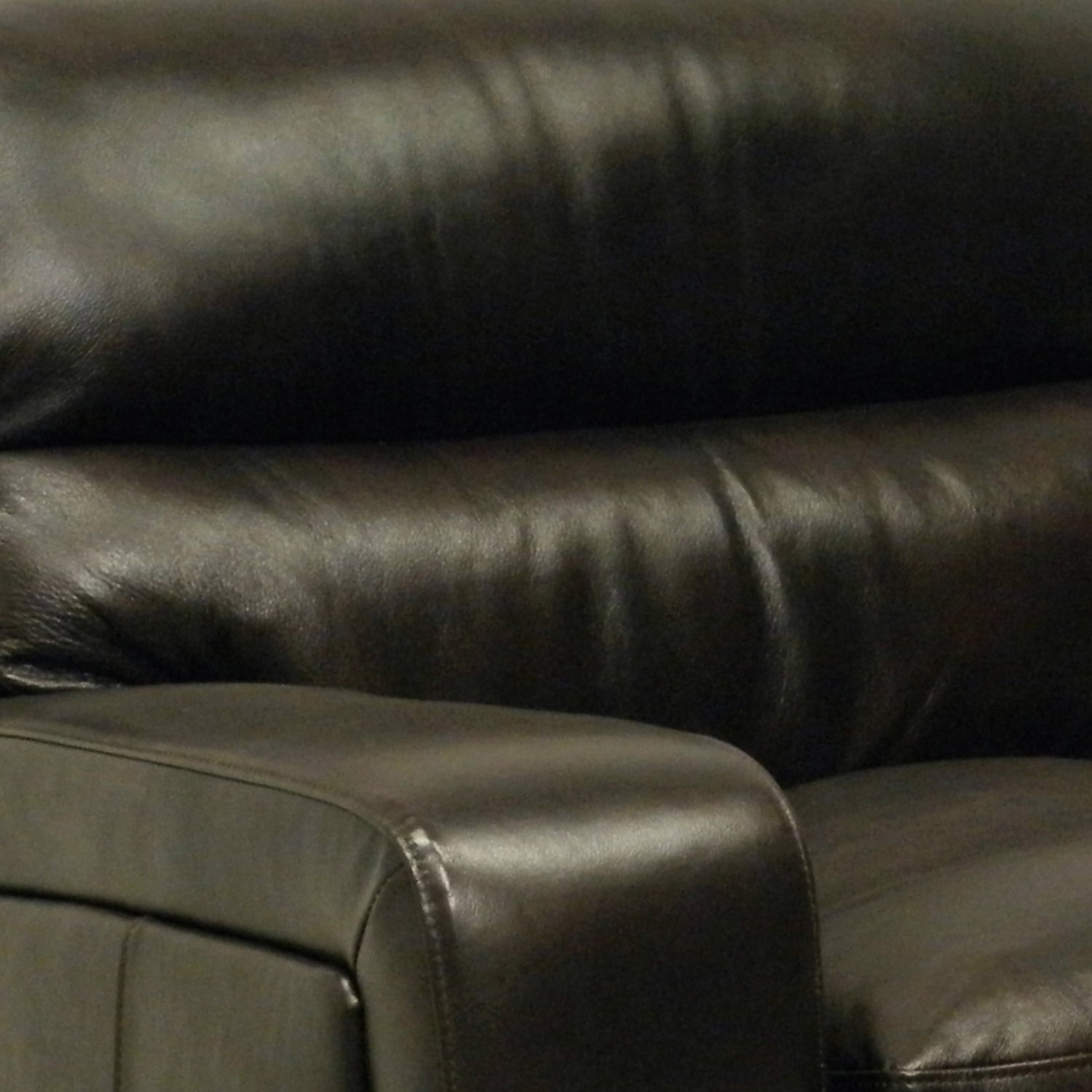 Mercer Dark Brown Italian Leather Sofa And Leather Chair – Free Inside Mercer Foam Oversized Sofa Chairs (Image 4 of 25)