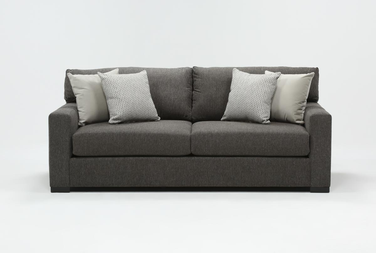 Mercer Foam Condo Sofa | Living Spaces Pertaining To Mercer Foam Swivel Chairs (View 2 of 25)