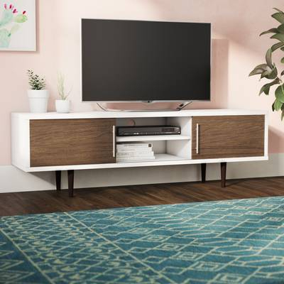 "Mercury Row Iversen Tv Stand For Tvs Up To 65"" & Reviews (Image 16 of 25)"