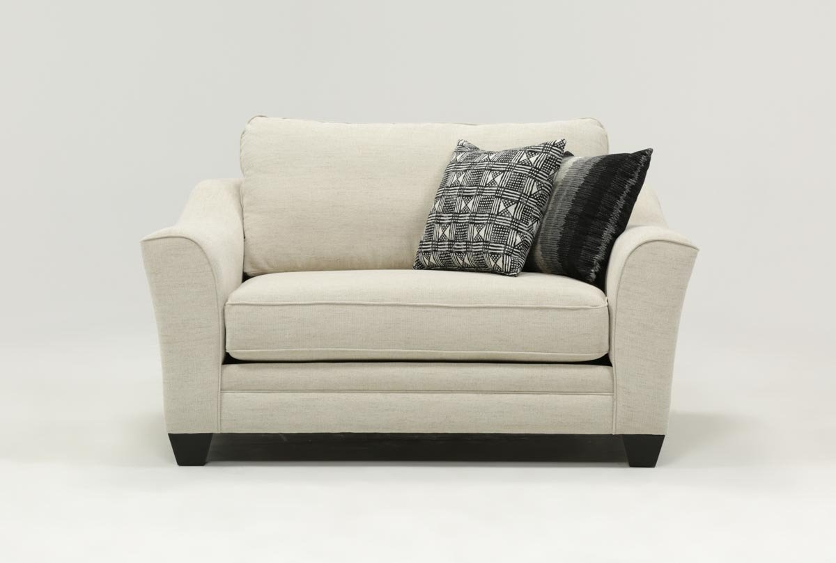 Mesa Foam Oversized Chair | Living Spaces With Regard To Mesa Foam Oversized Sofa Chairs (Image 17 of 25)