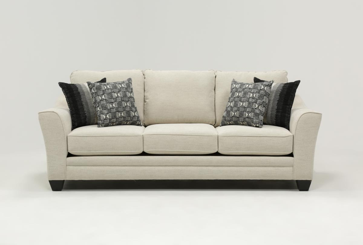 Mesa Foam Sofa | Living Spaces Regarding Mesa Foam Oversized Sofa Chairs (Image 19 of 25)