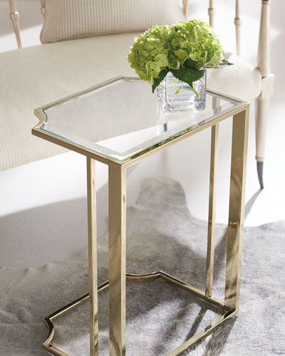 Metal Accent Table (Image 12 of 25)