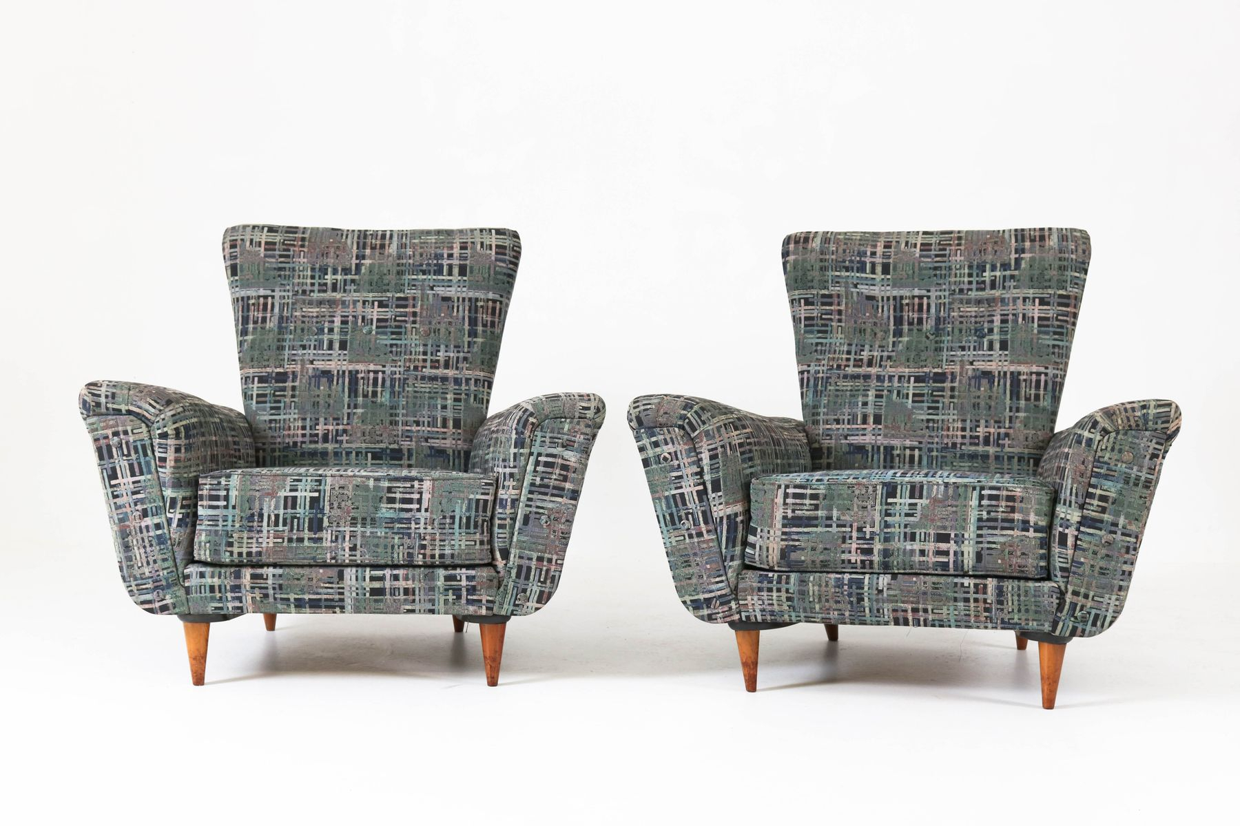Mid Century Lounge Chairstheo Ruth For Artifort, 1950S, Set Of 2 Within Theo Ii Swivel Chairs (Image 10 of 25)