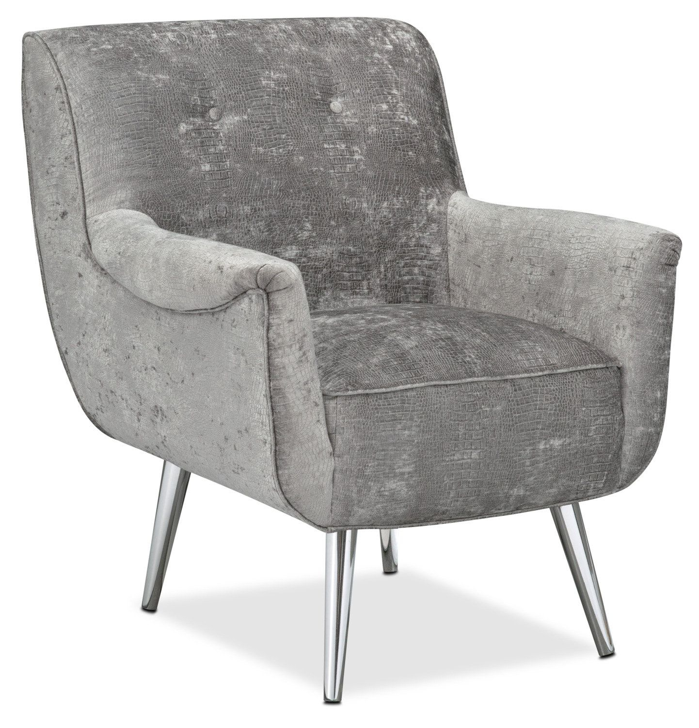 Featured Photo of Loft Smokey Swivel Accent Chairs