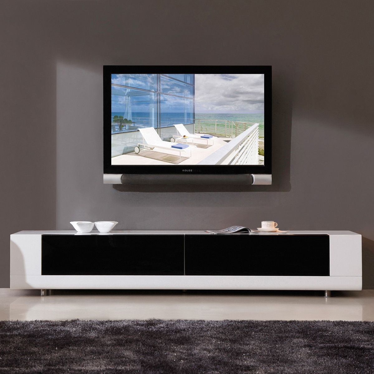 Minimalist, Modern Media Cabinet (View 21 of 25)