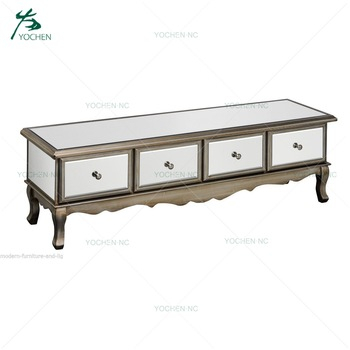 Mirrored Furniture New Model Modern Tv Unit Cabinet With Showcase Inside Preferred Mirrored Furniture Tv Unit (Image 11 of 25)