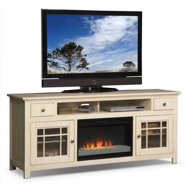 Modern Electric Fireplace Tv Stand Lowes Images With Regard To With Newest Wyatt 68 Inch Tv Stands (Image 13 of 25)