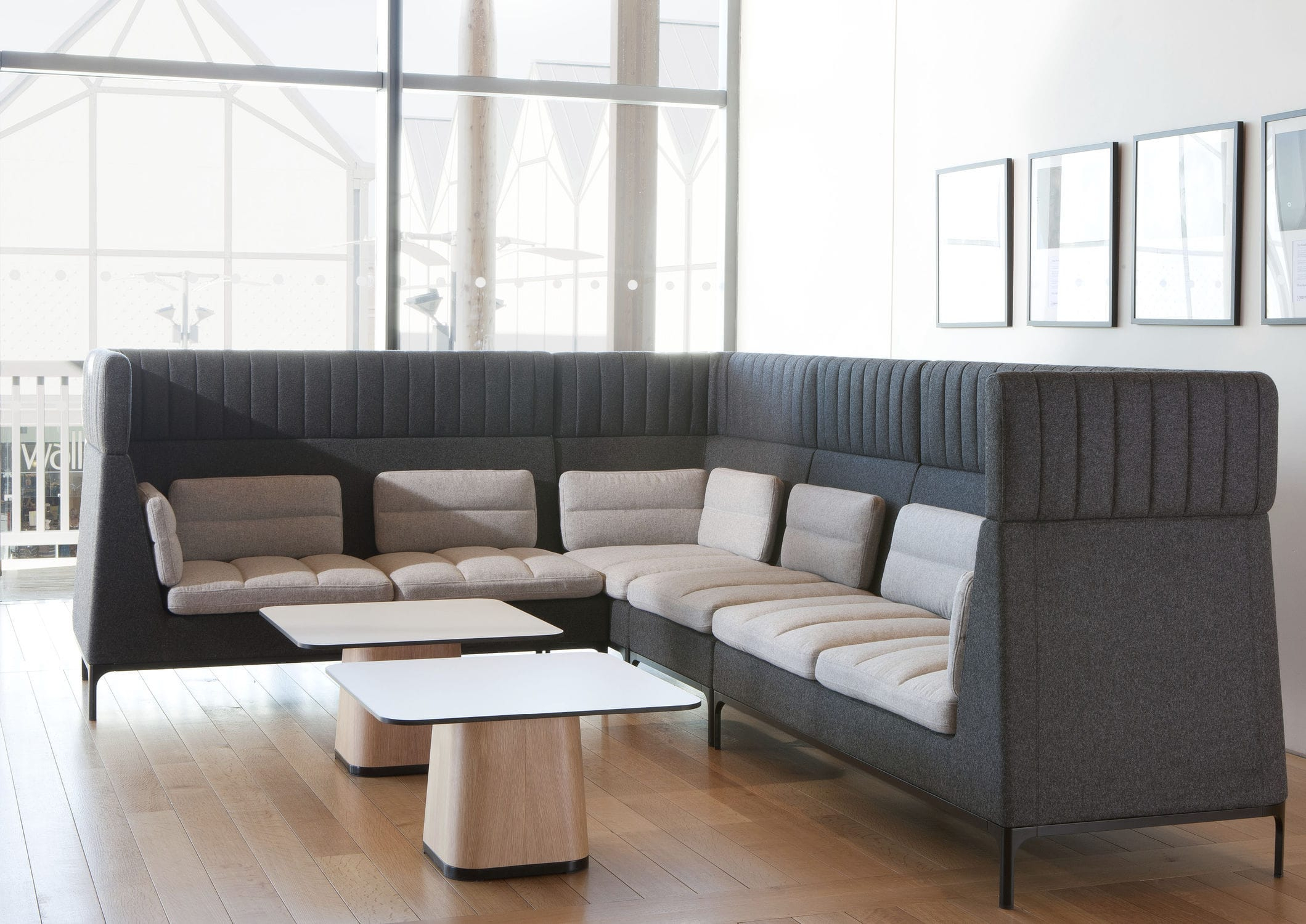 Modular Sofa / Contemporary / Aluminum / Fabric – Havenmark Pertaining To Haven Sofa Chairs (View 7 of 25)