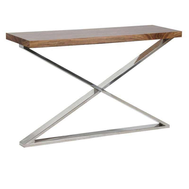 Morton X Frame Console Table Intended For Newest Frame Console Tables (Image 16 of 25)