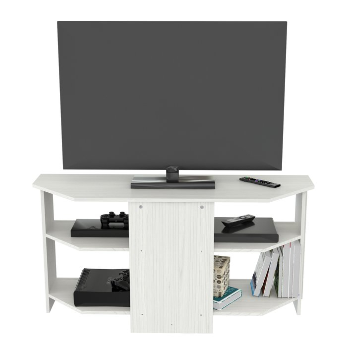 """Most Current Black Corner Tv Stands For Tvs Up To 60 Pertaining To Winston Porter Galeana Corner Tv Stand For Tvs Up To 60"""" & Reviews (Image 14 of 25)"""