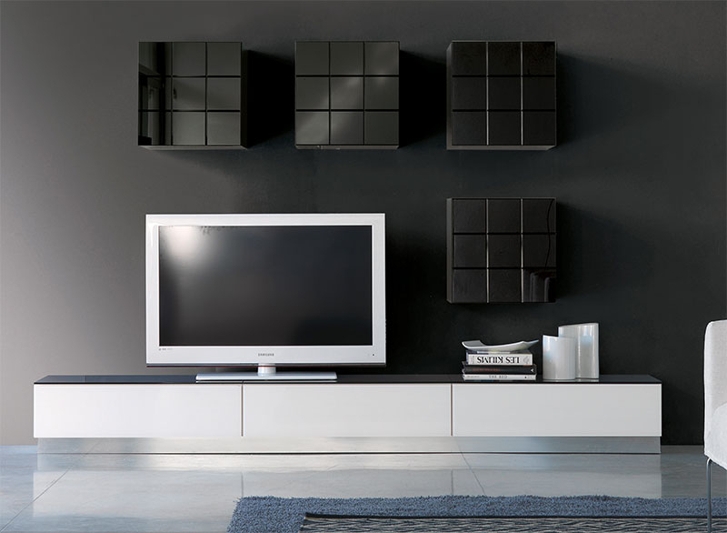 Most Current Black Gloss Tv Wall Unit In Contemporary Tv Wall Units Uk – Wall Ideas (Image 13 of 25)
