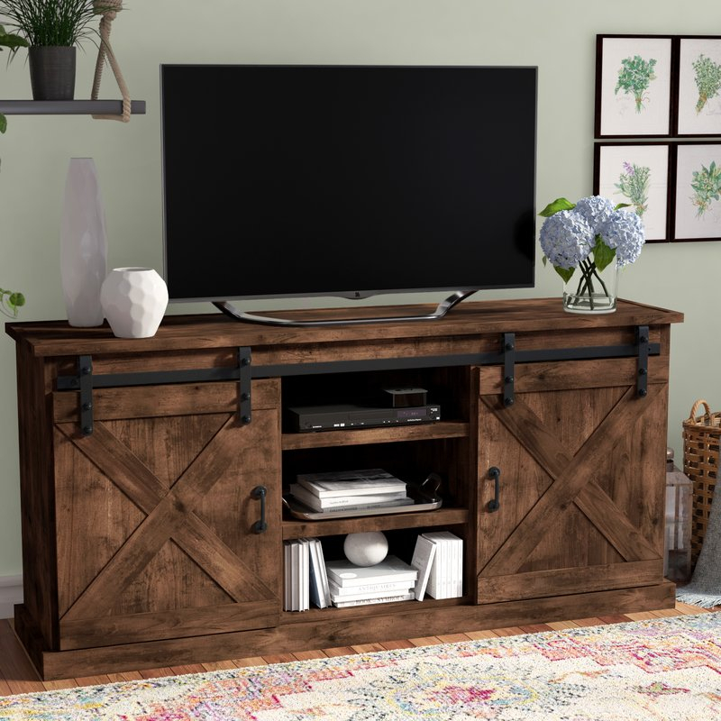 Most Current Casey Grey 66 Inch Tv Stands Within Laurel Foundry Modern Farmhouse Clair Tv Stand For Tvs Up To (View 2 of 25)