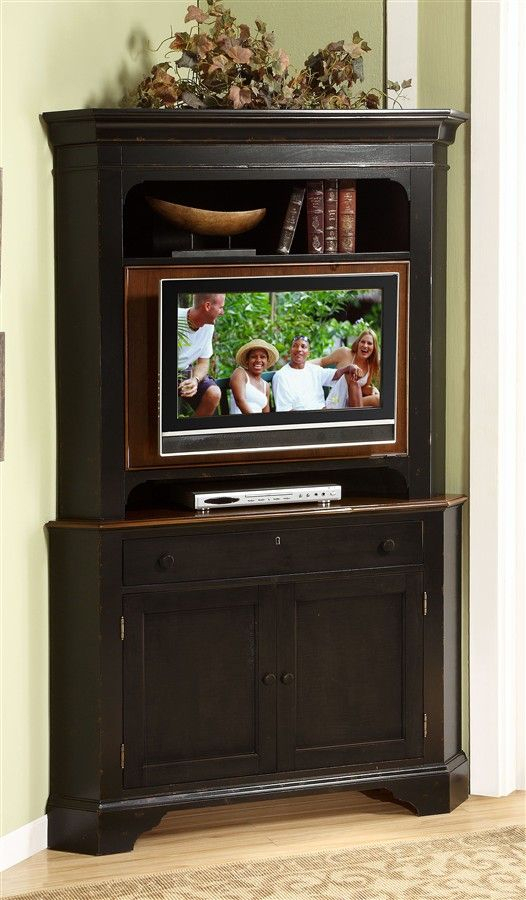 Featured Photo of Corner Tv Cabinet With Hutch