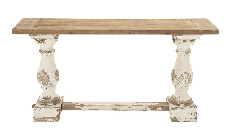 "Most Current Hand Carved White Wash Console Tables For Uma Wood Console Table 59""w, 29""h 14840 – Uma Wood Console Table  (Image 13 of 25)"