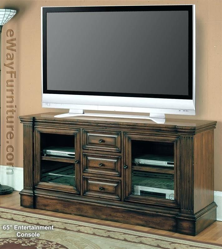 Most Current Jaxon 65 Inch Tv Stands Inside 65 Tv Consoles Forest Plasma Inch Console Stand With Lighted Hutch (Image 17 of 25)