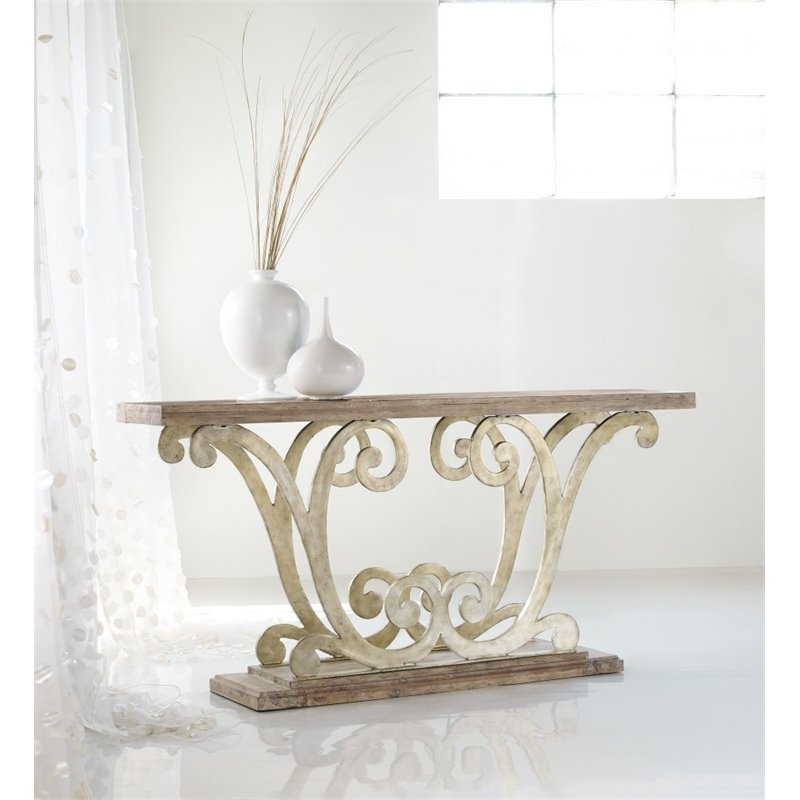 Most Current Remi Console Tables Regarding Hooker Furniture Melange Remi Console Table – 638  (Image 8 of 25)