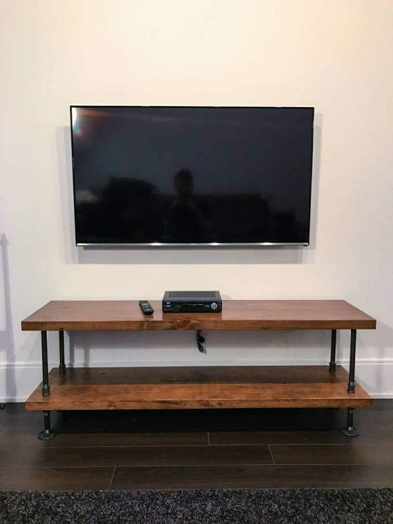 Most Current Rustic Furniture Tv Stands For Industrial Tv Stand (View 16 of 25)