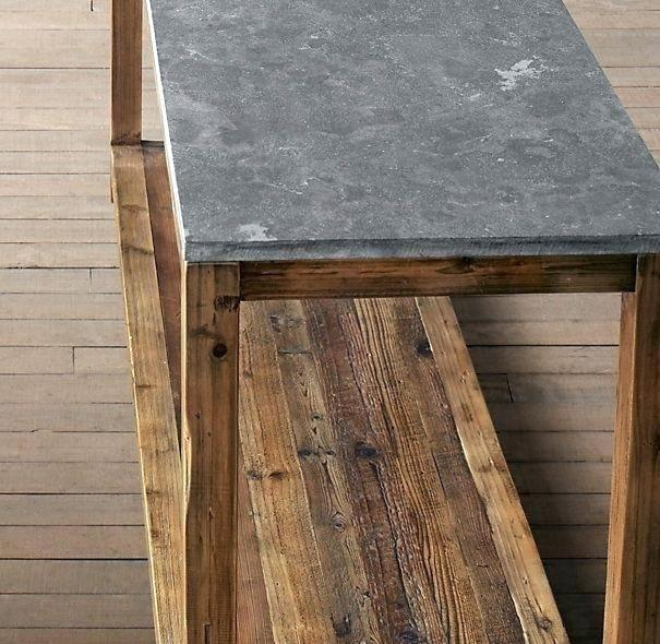 Most Popular Bluestone Console Tables Intended For Bluestone Console Table Restoration Hardware Parsons – Redz (Image 15 of 25)