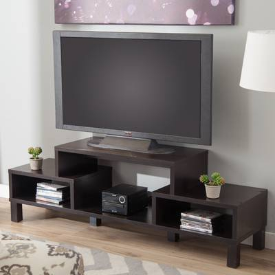 "Most Popular Kenzie 60 Inch Open Display Tv Stands In Zipcode Design Gracie Tv Stand For Tvs Up To 60"" & Reviews (Image 10 of 25)"