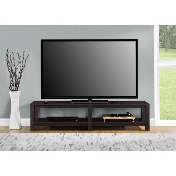 Most Popular Kenzie 72 Inch Open Display Tv Stands Regarding 65 In Tv Stand With Fireplace (Image 14 of 25)
