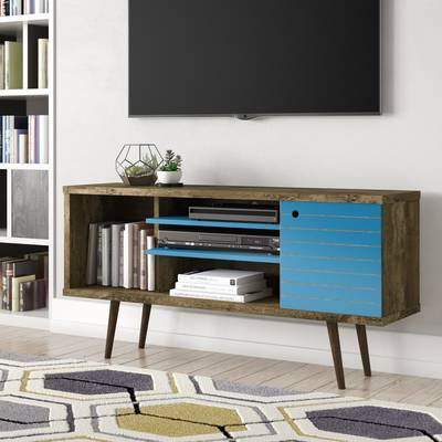 """Most Popular Maddy 50 Inch Tv Stands In Three Posts Orviston Corner Tv Stand For Tvs Up To 60"""" & Reviews (Image 11 of 25)"""