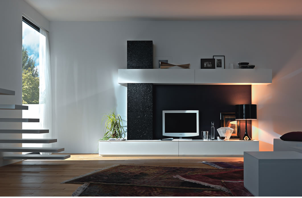 Most Popular Modern Design Tv Cabinets Within Modern Contemporary Tv Wall Units — All Contemporary Design : Modern (Image 11 of 25)