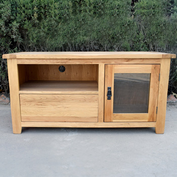 Most Popular Oak Furniture Tv Stands Pertaining To Solid Oak Furniture Natural Color Wood Tv Stand Tv Cabinet – Buy (View 5 of 25)