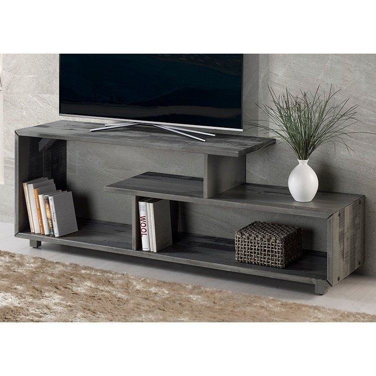 Most Popular Rowan 74 Inch Tv Stands With Regard To Buy Grey, 42 – 60 Inches Tv Stands & Entertainment Centers Online At (Image 12 of 25)