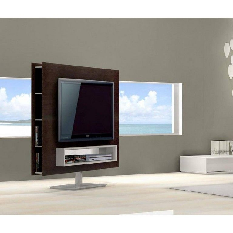 Most Popular Small Tv Stands On Wheels Intended For Furniture:ikea Tv Table Tv Stand On Wheels Black Tv Stand Simple Tv (Photo 7 of 25)
