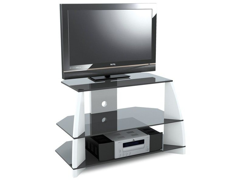 "Most Popular Stil Tv Stands With Regard To Stil Stand Gloss White Wooden Tv Stand Up To 32"" Stuk2040 Wh (Image 10 of 25)"