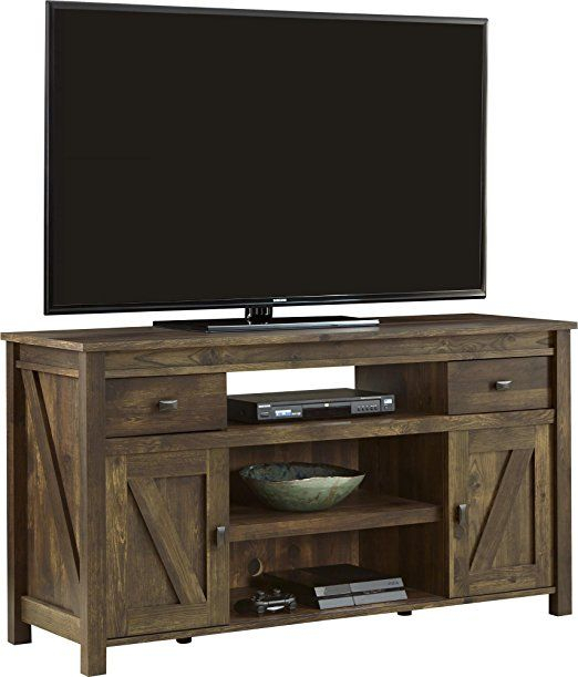 Most Recent Century White 60 Inch Tv Stands In Amazon: Ameriwood Altra Farmington Tv Stand, Century Barn Pine (Image 18 of 25)