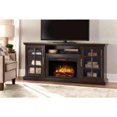 Most Recent Dixon Black 65 Inch Highboy Tv Stands Pertaining To Electric Fireplaces – Fireplaces – The Home Depot (View 11 of 25)