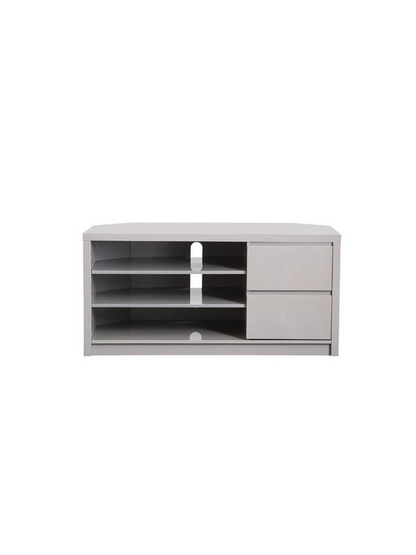 Most Recent Echo Tv Unit For Echo Tall High Gloss Corner Tv Unit – Fits Up To 65 Inch Tv (Image 15 of 25)