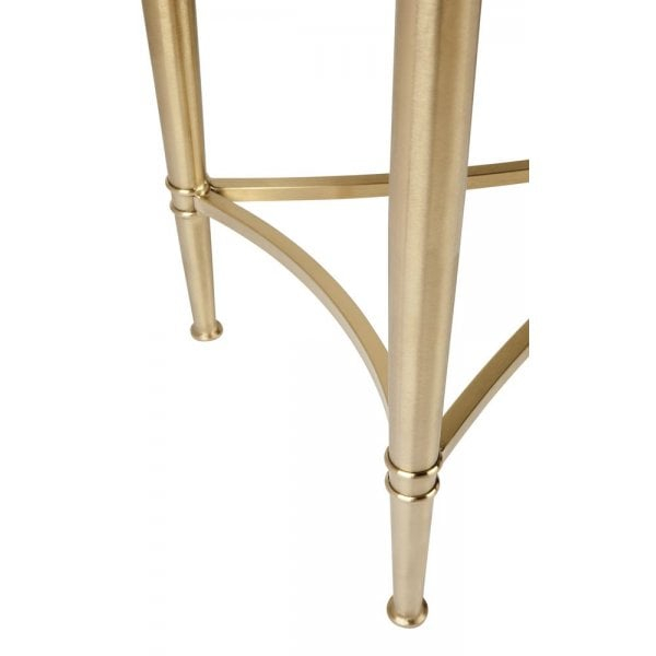 Most Recent Jacque Console Tables With Cafe Lighting And Living Jacques Console Table – Gold – Cafe (Image 20 of 25)