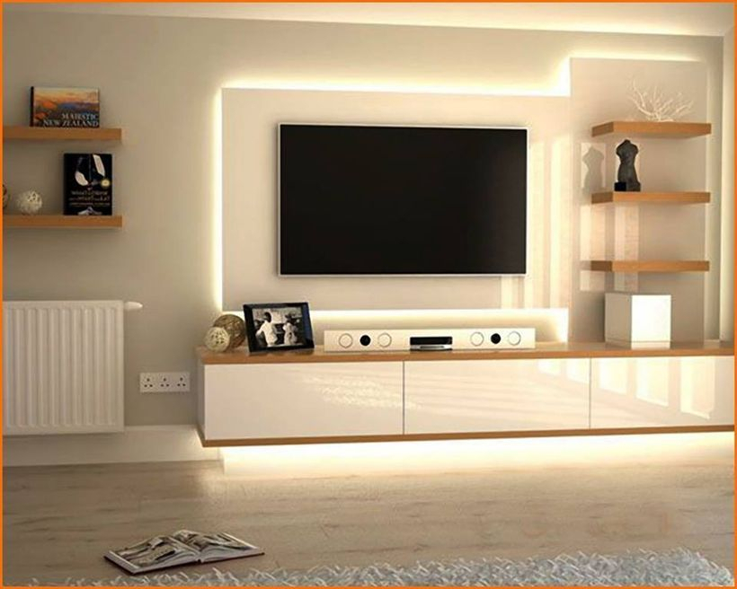 Most Recent Modern Design Tv Cabinets Throughout 30 Awesome Ideas To Make Modern Tv Unit Decor In Your Home (View 5 of 25)
