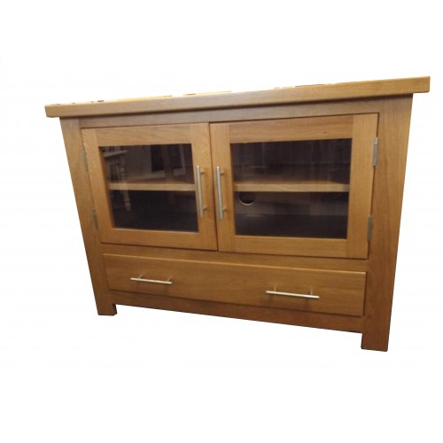 Most Recent Oak Tv Cabinet With Doors Regarding Finewood Studios (Furniture) Ltd (View 19 of 25)