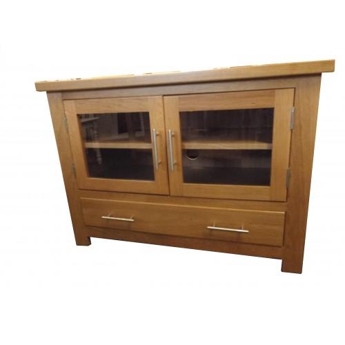 Most Recent Oak Tv Cabinet With Doors Regarding Finewood Studios (Furniture) Ltd (Image 12 of 25)